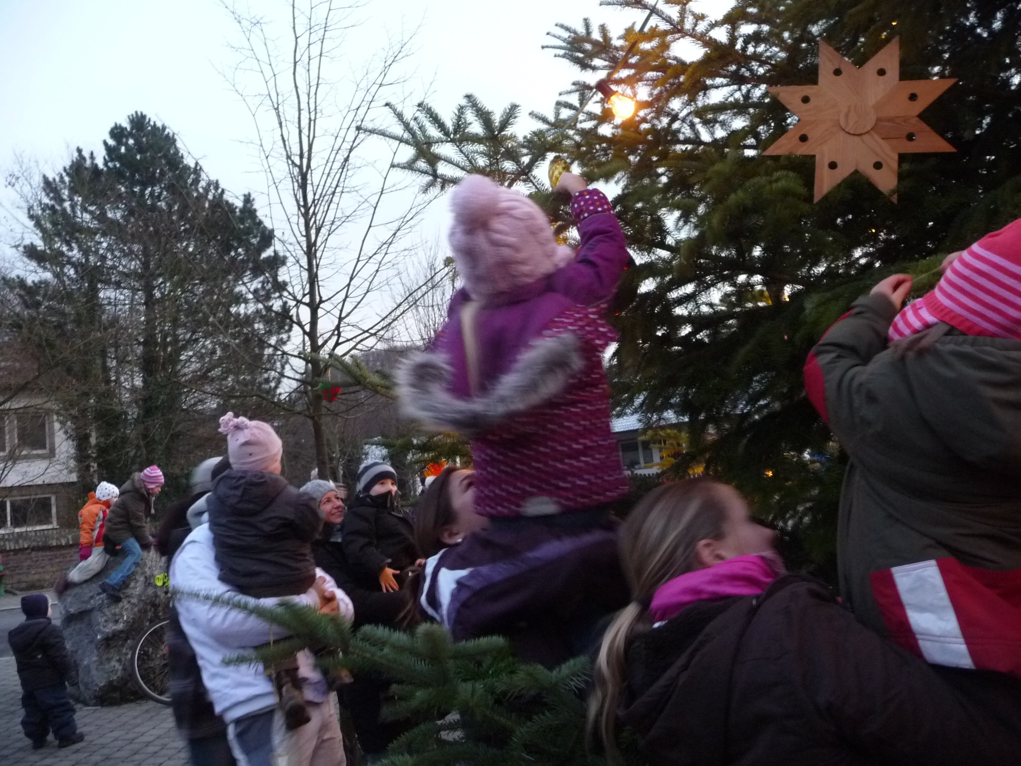 Alle Jahre wieder Das Weihnachtsbaumfest (44)
