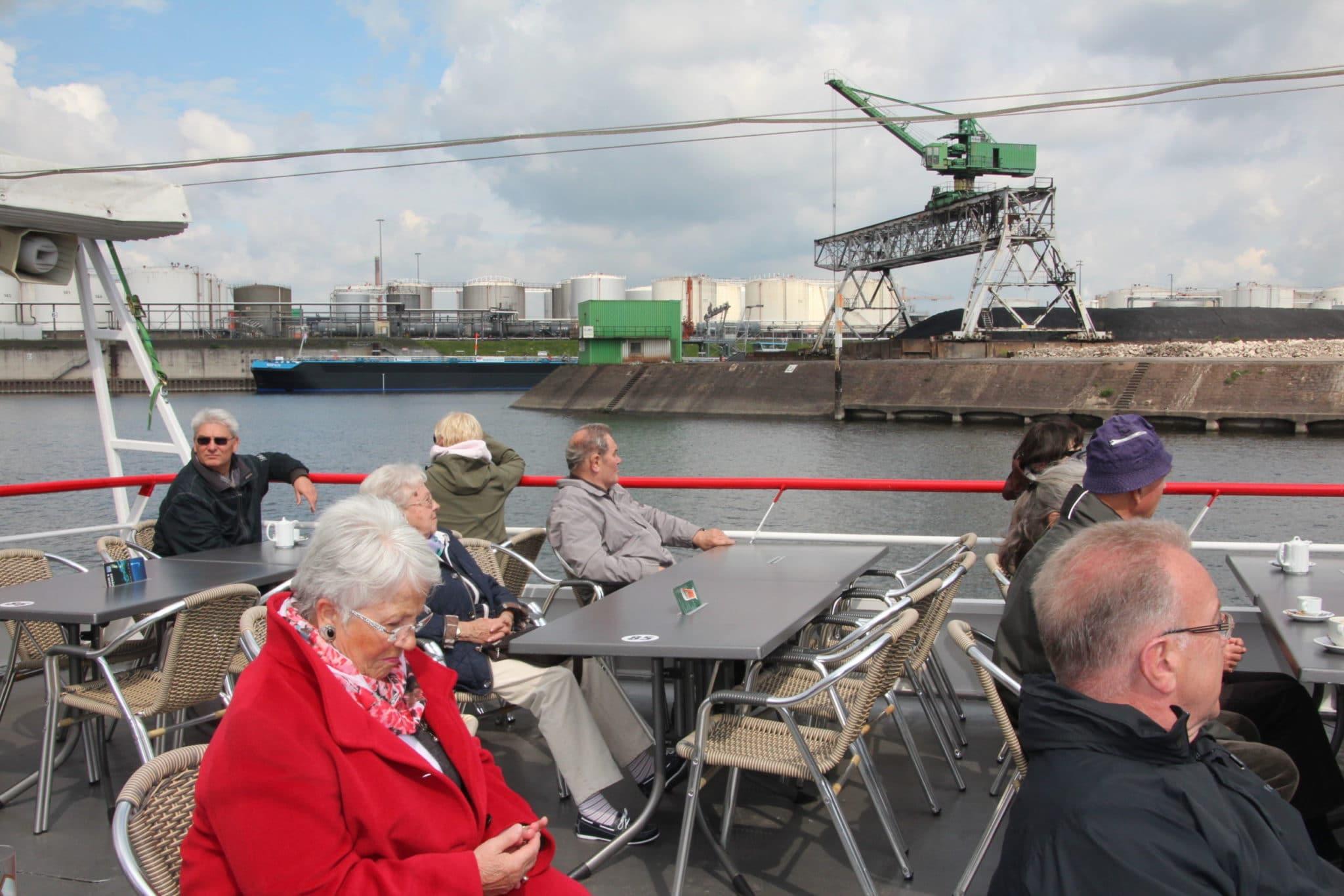Ausflug zum Binnenhafen Duisburg 06-2014 (2)