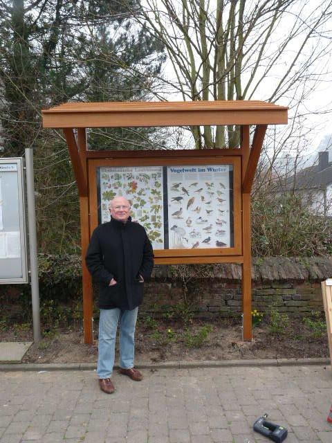 INFO-Tafel Dorfplatz 12.03.2014