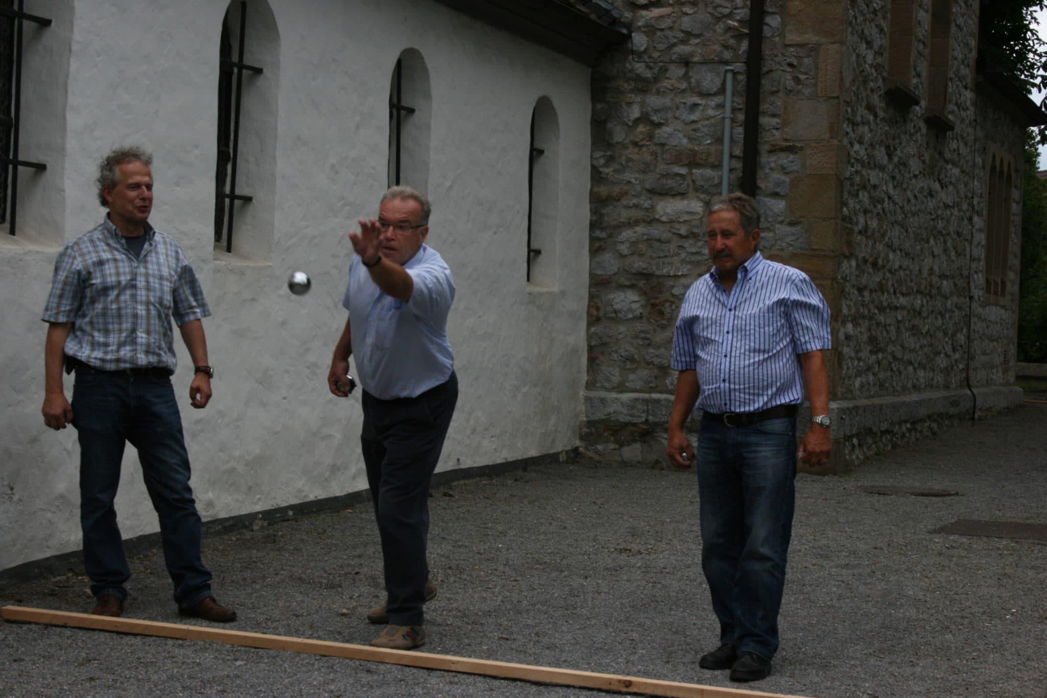 Kirchweihfest 07-2011 Boulepartie