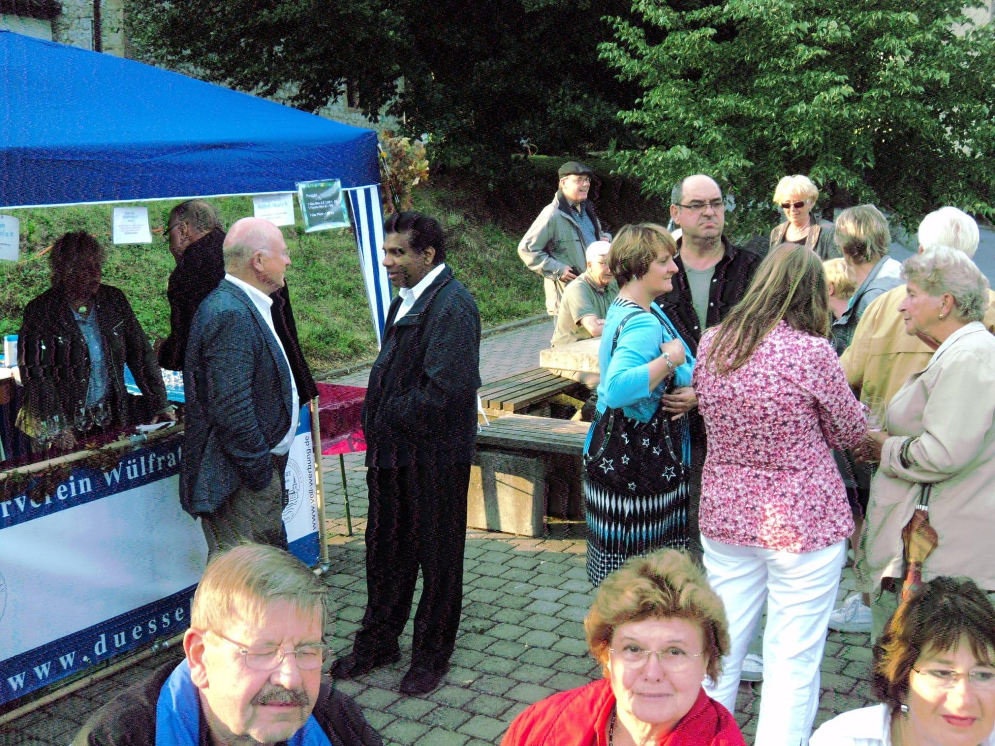 Kirchweihfest 07-2011Stand des Bürgervereins