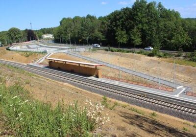 S28 Haltepunkt Hahnenfurt-Düssel